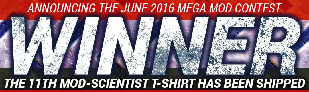 June 2016 Mega Mod Winner