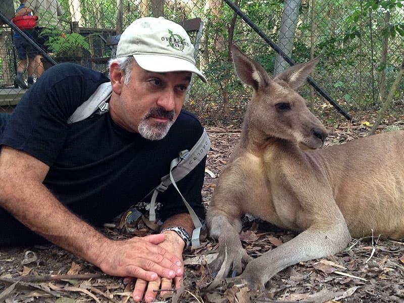 Kangaroo pose