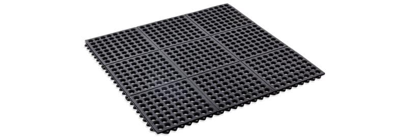 Interlocking bath mat