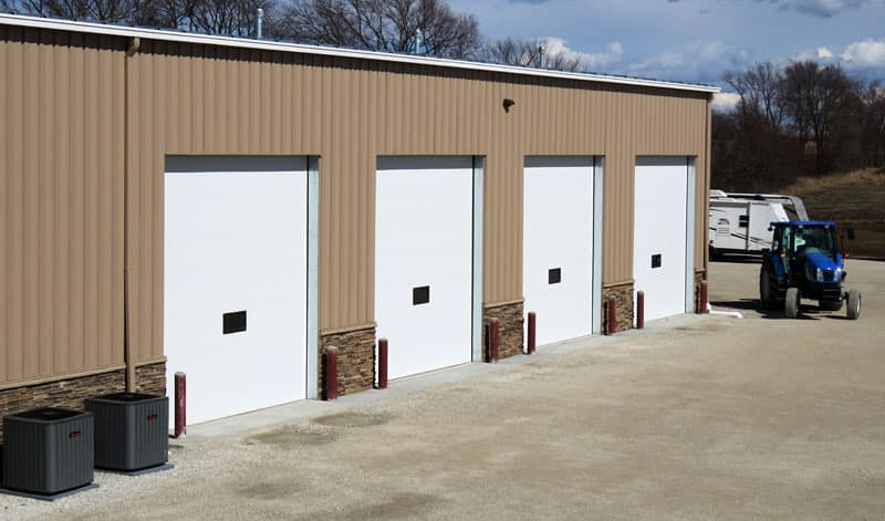 Ketelsen RV, DeSoto, Iowa, Four Bay RV Service Area