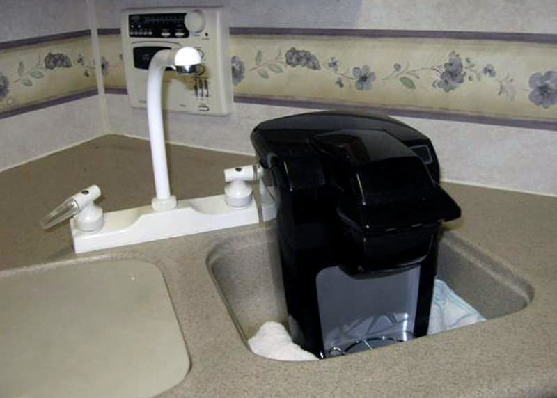 Keurig In Sink Travel Mode
