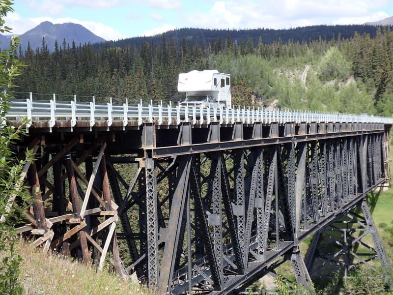 Kusklana Bridge, McCarthy Highway, Alaska
