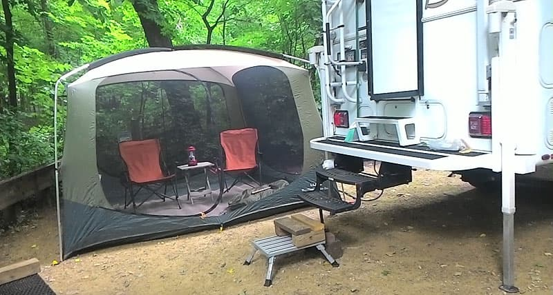 LL Bean Screen Room & Do Tents and Campers Mix? - Truck Camper Magazine