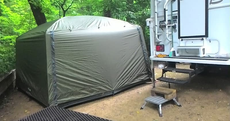 LLBean Wilderness Screen Room. u201c & Do Tents and Campers Mix? - Truck Camper Magazine