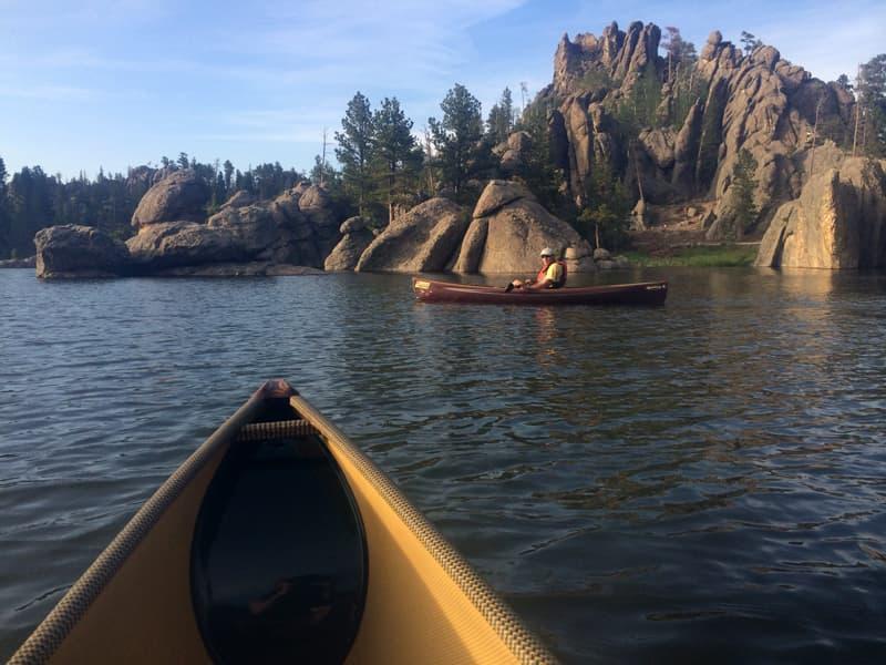 Lake Canoe Black Hills South Dakota