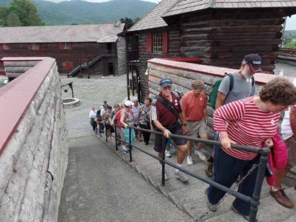 Fort William Henry Tour, photo taken by Gus Postreich