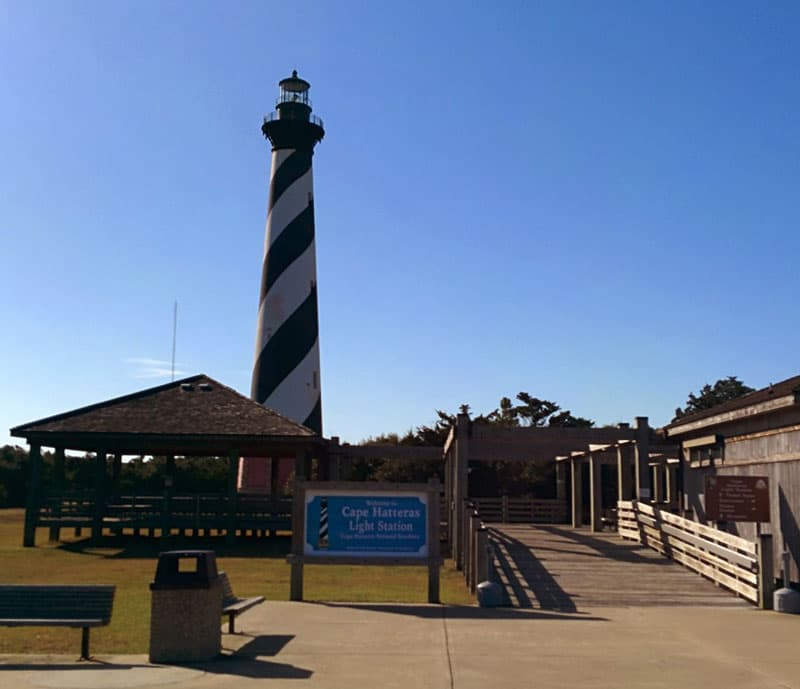 Lake Hatteras Light Station Outer Banks
