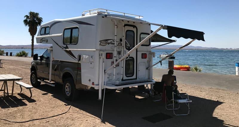 Lake Havasu Camping By Water