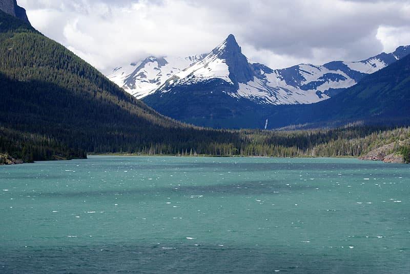 Lake McDonald in Glacier Park