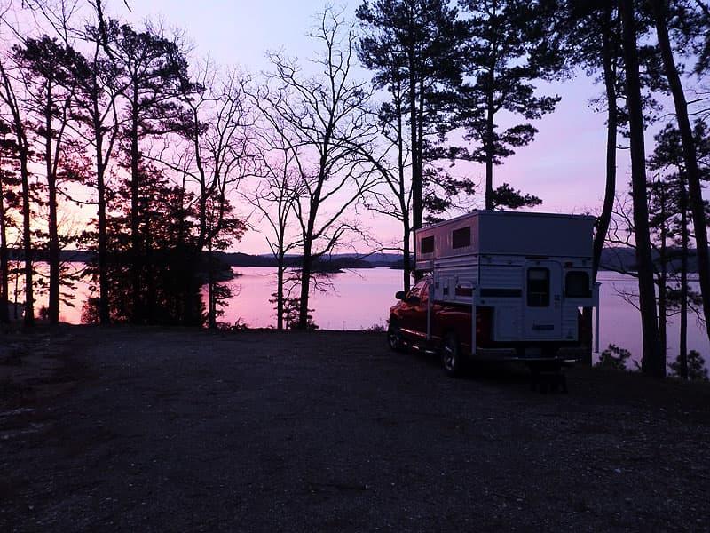 Lake Ouachita near Hot Springs, Arkansas