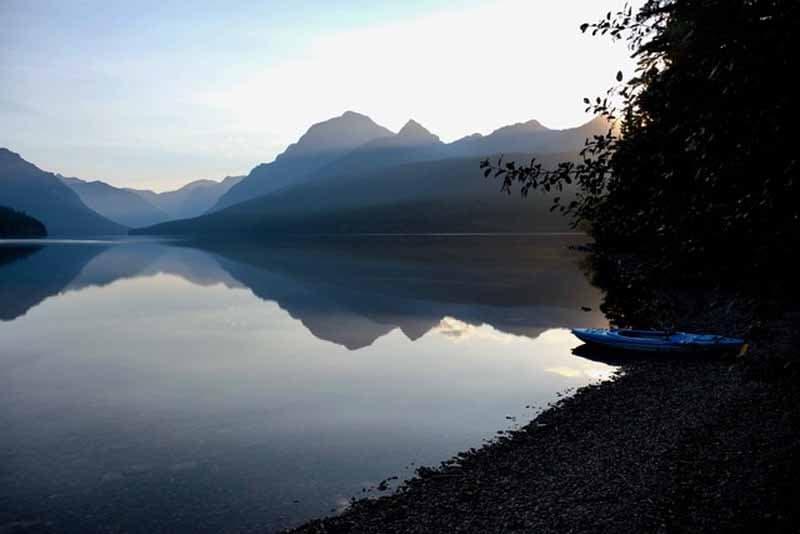 Lake And Mountains Johnson