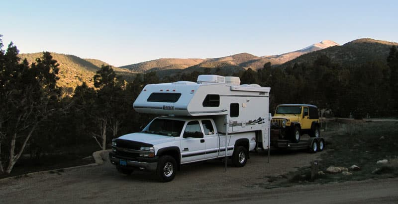 Lakeview Campground At Cave Lake State Park, Nevada
