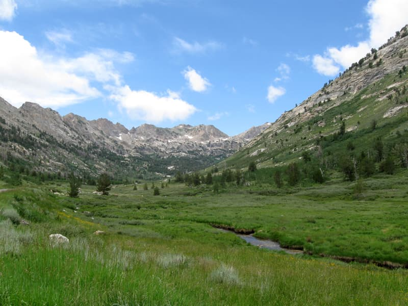 Lamoille Canyon In The Ruby Mountains