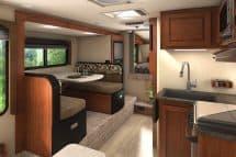 2017 Lance 1172 interior truck camper