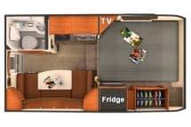Lance 650 3D floor plan
