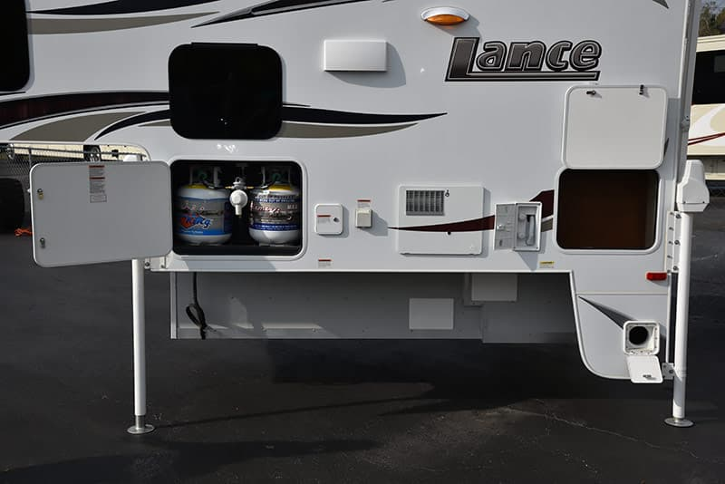 Lance-850-Drivers-Side-Propane tanks