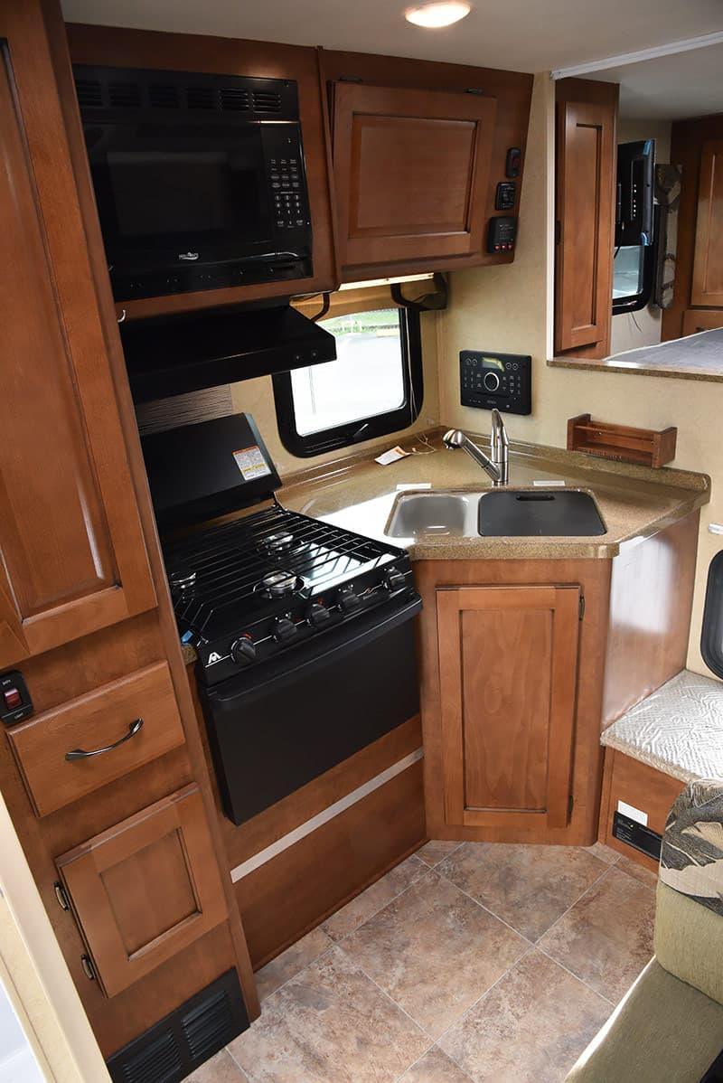 Lance 850 kitchen galley