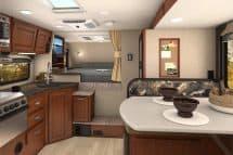 2017 Lance 995 truck camper interior