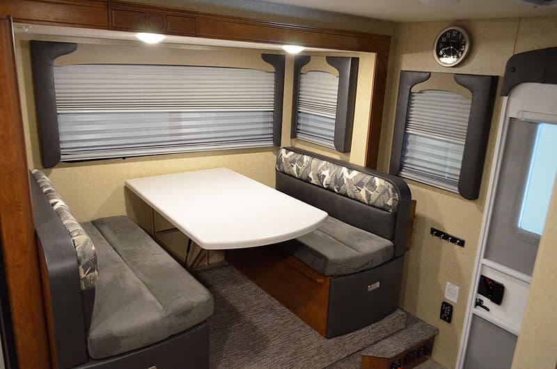 Lance truck campers have reversible cushions