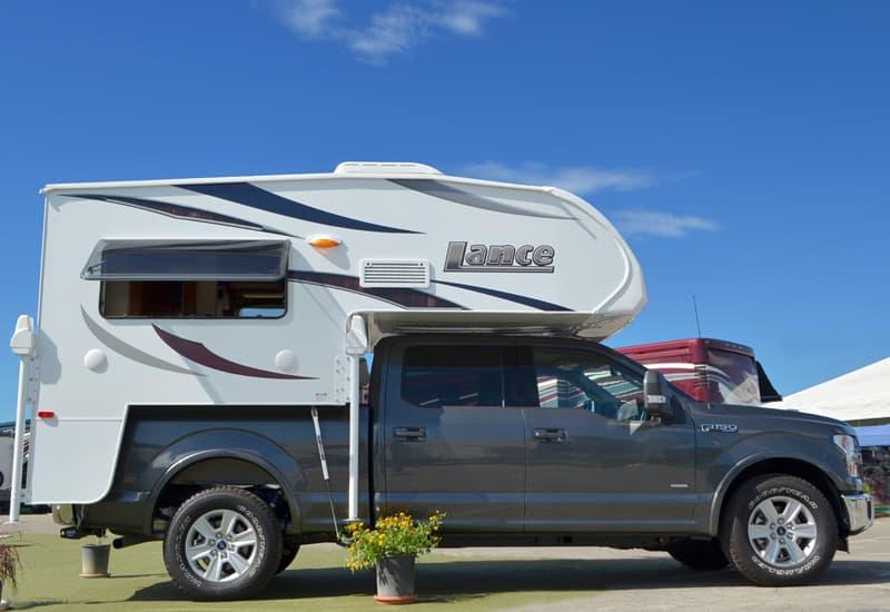 2016 Lance 650 Half Ton Short Bed Truck Camper