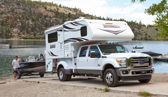 Lance 1062 Double Slide Dry Bath Truck Camper