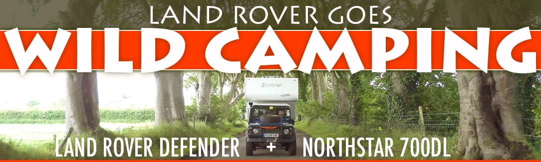 Landrover camping across Europe