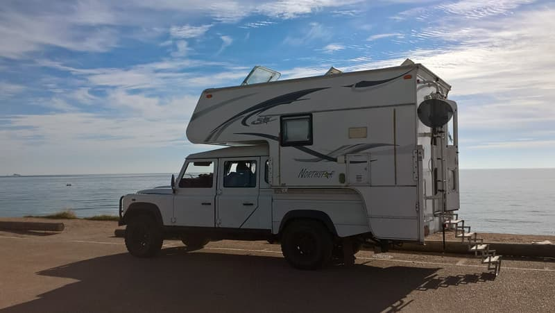 Landrover TDCi truck