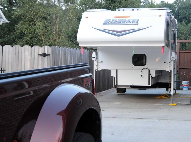 Laser to load camper