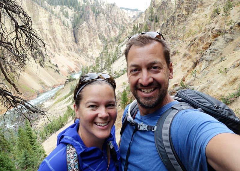 Yellowstone National Park selfie