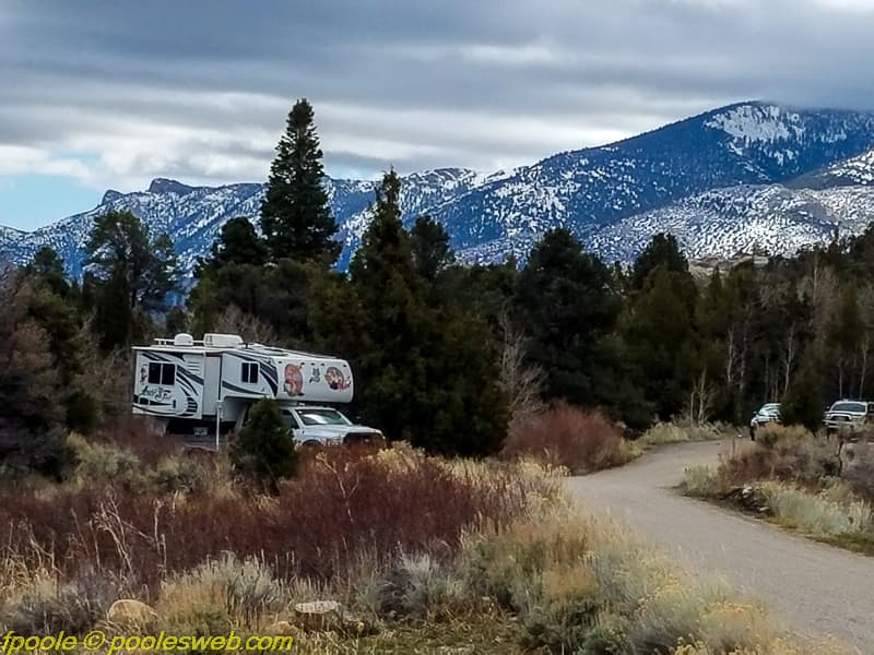 Lehman Caves Camping Nevada