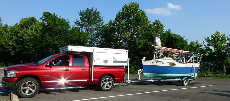 Sailing trip in Ohio