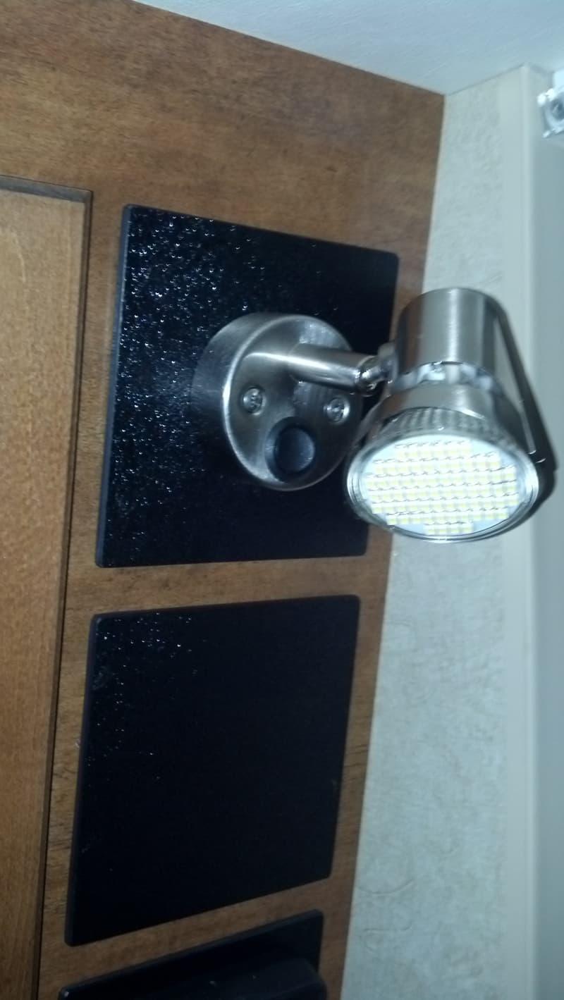 New LED Light Closeup