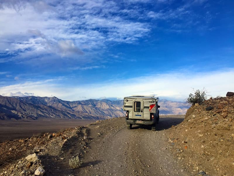 Lippincott Pass In Death Valley Edge Of Earth