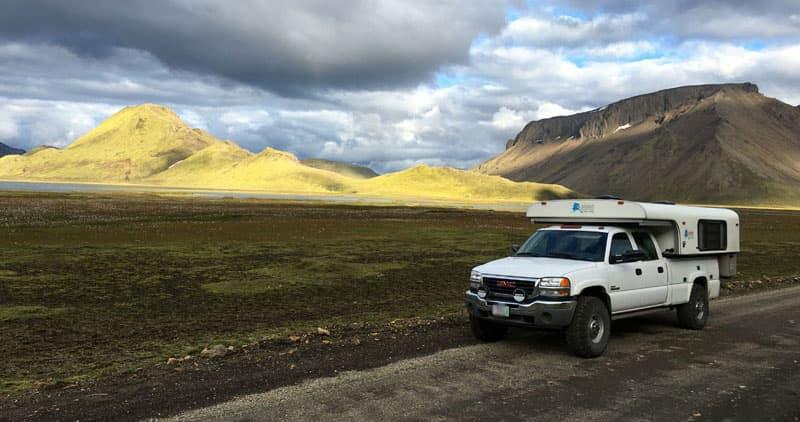 Litli Kylingur Kirkjufell Near Lamdmannalaugar Iceland