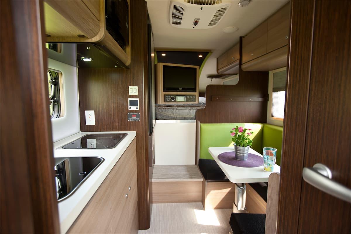2016 cirrus 800 truck camper magazine for Truck camper interior ideas