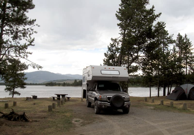 Lonesomehurst Campground, West Yellowstone, Montana