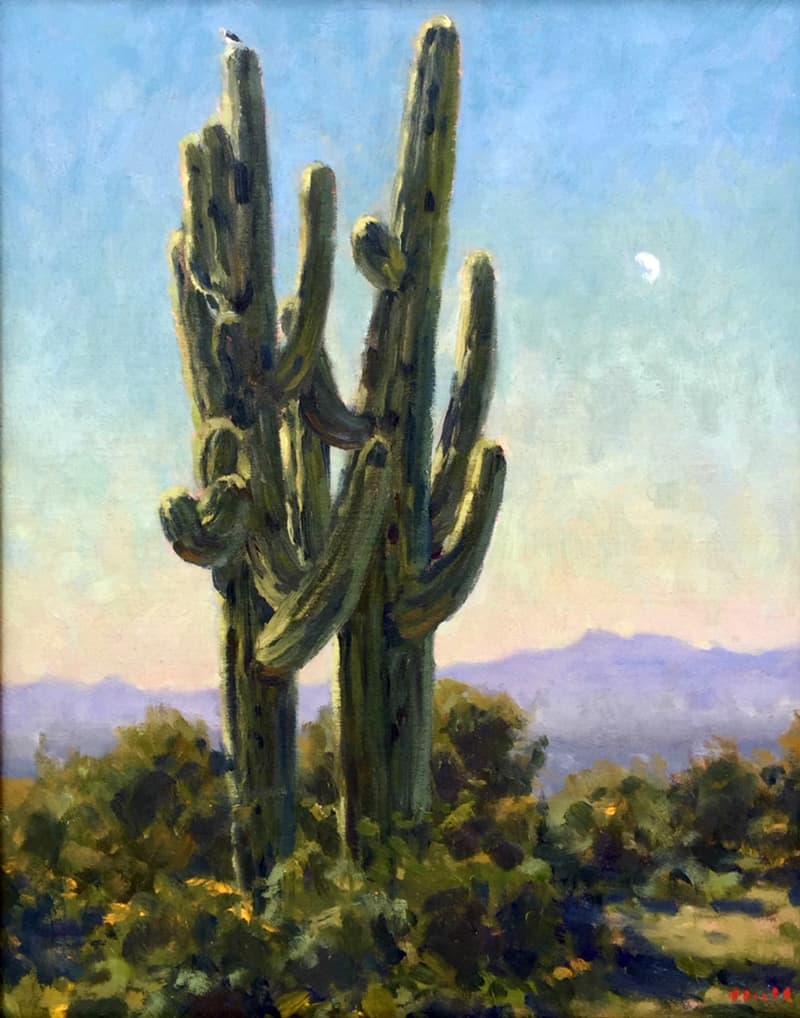 Lost Dutchman State Park Arizona Painting