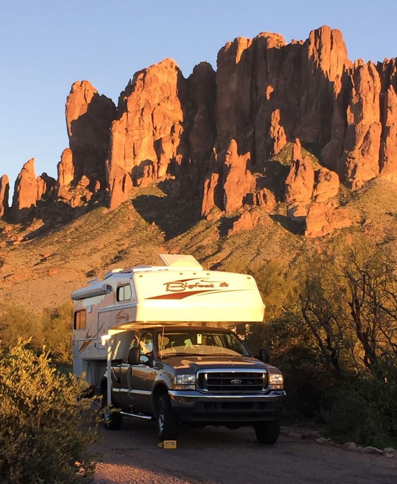 Lost Dutchman State Park Camping Arizona