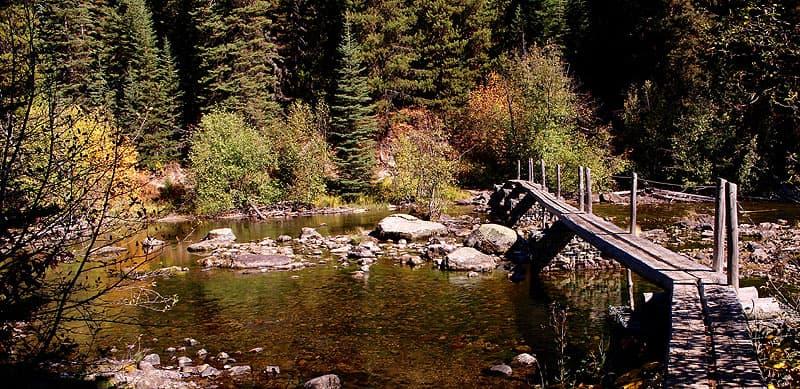 Bridge on the Lower Quartz Lake Trail
