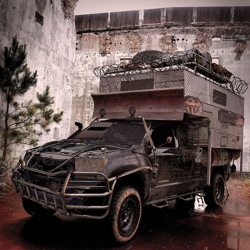 Mad Max truck camper
