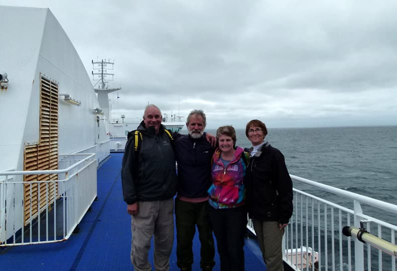 MV Highlander ferry ride Newfoundland