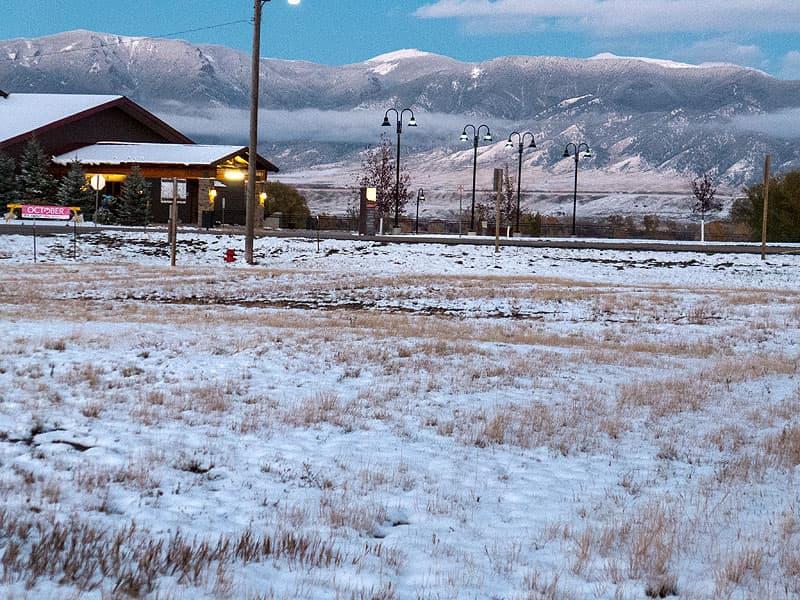Madison Mountain Range, Ennis, Montana