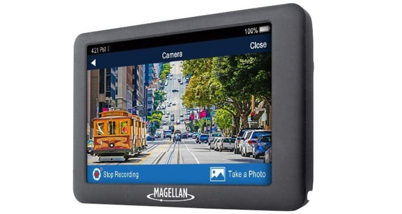 Magellan Roadmate Built In Dash Camera