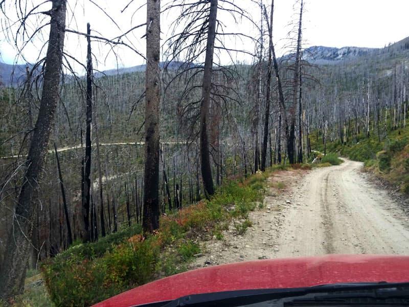 Driving the Magruder Road Corridor