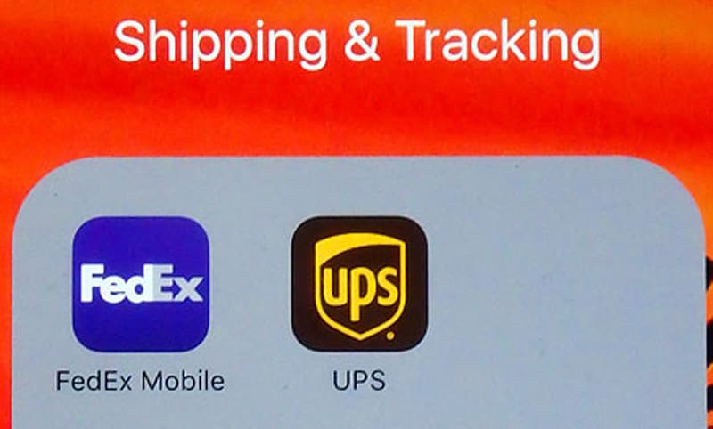 Mail-Smart-Phone-FedEx-UPS-App