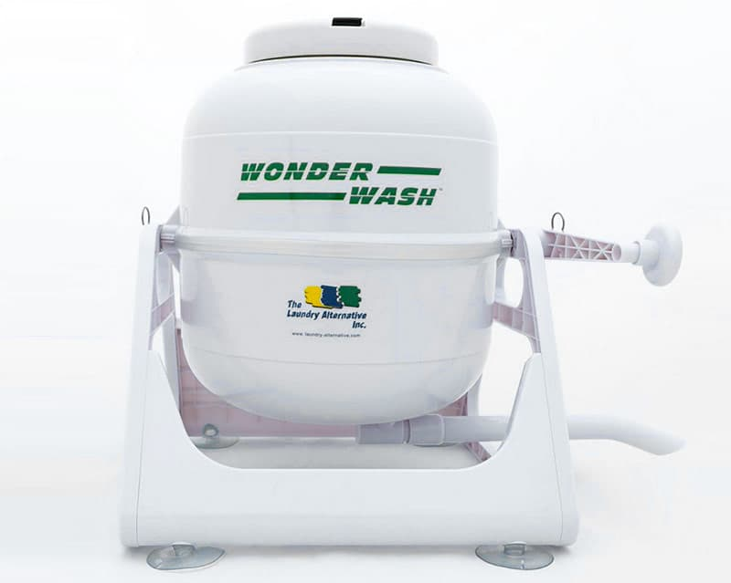 Wonder wash machine in a camper
