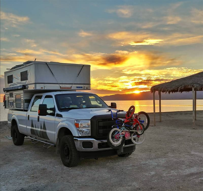 Mali-Mish in Mexico beach camping