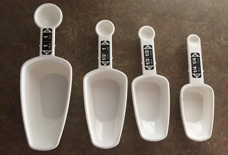 Measuring Spoons Nesting