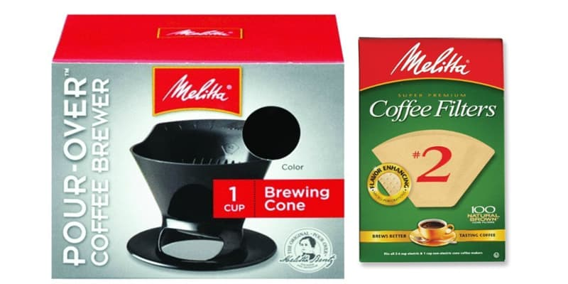 Melita Pour Over Coffee Brewer