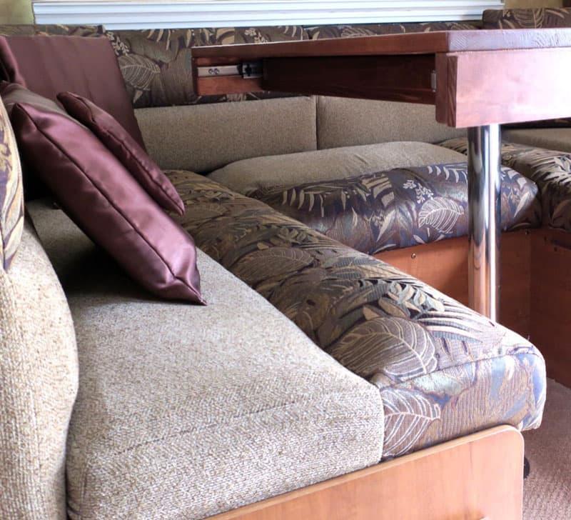 Memory Foam For U-Shaped Camper Dinette Seats